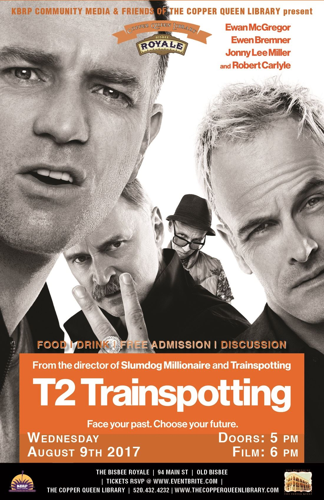 T2 TRAINSPOTTING AUGUST 2017 11 X 17 LO REZ