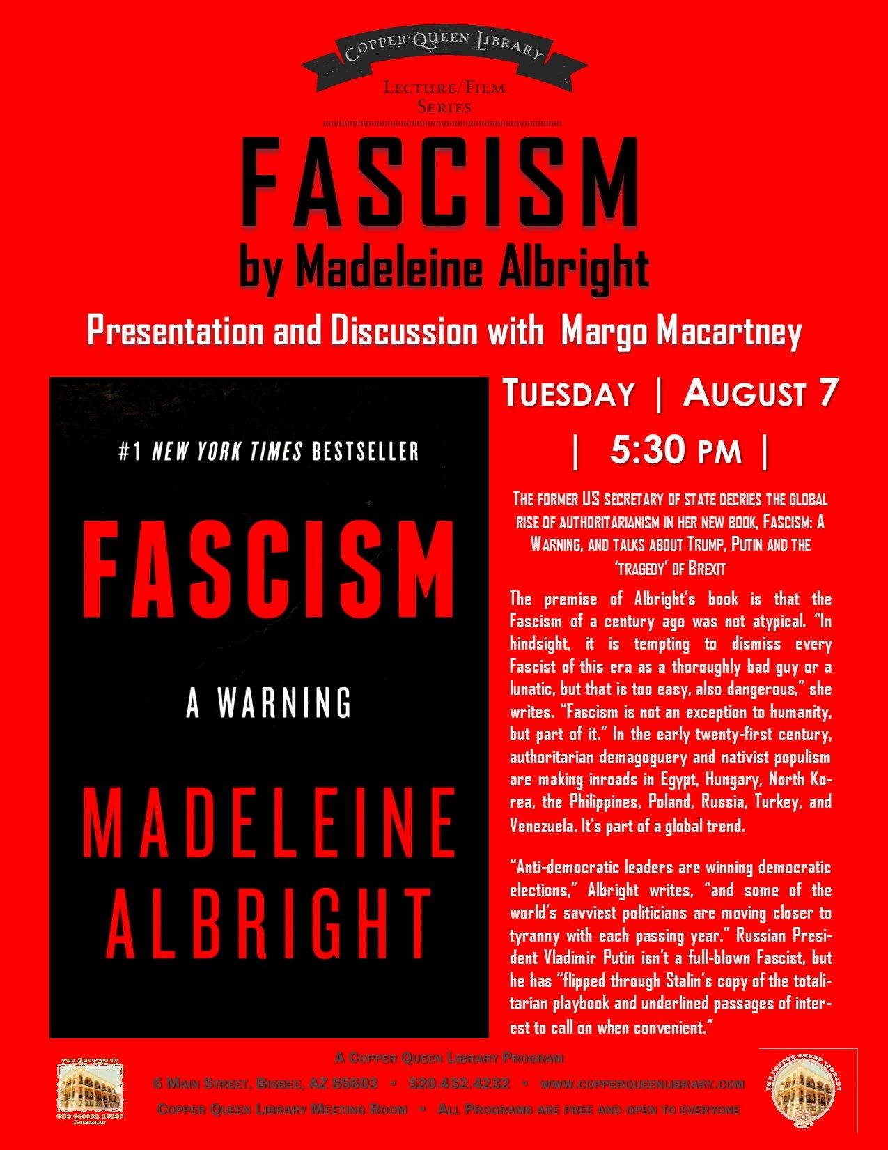 FASCISM MACARTNEY 8.7.18 8.5 X 11