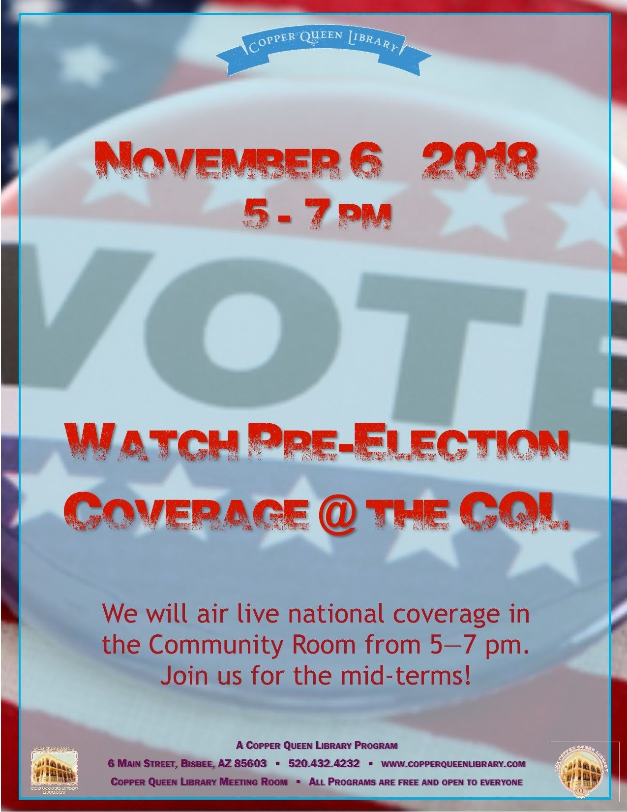 PRE-ELECTION COVERAGE 11.6.18 8.5 x 11