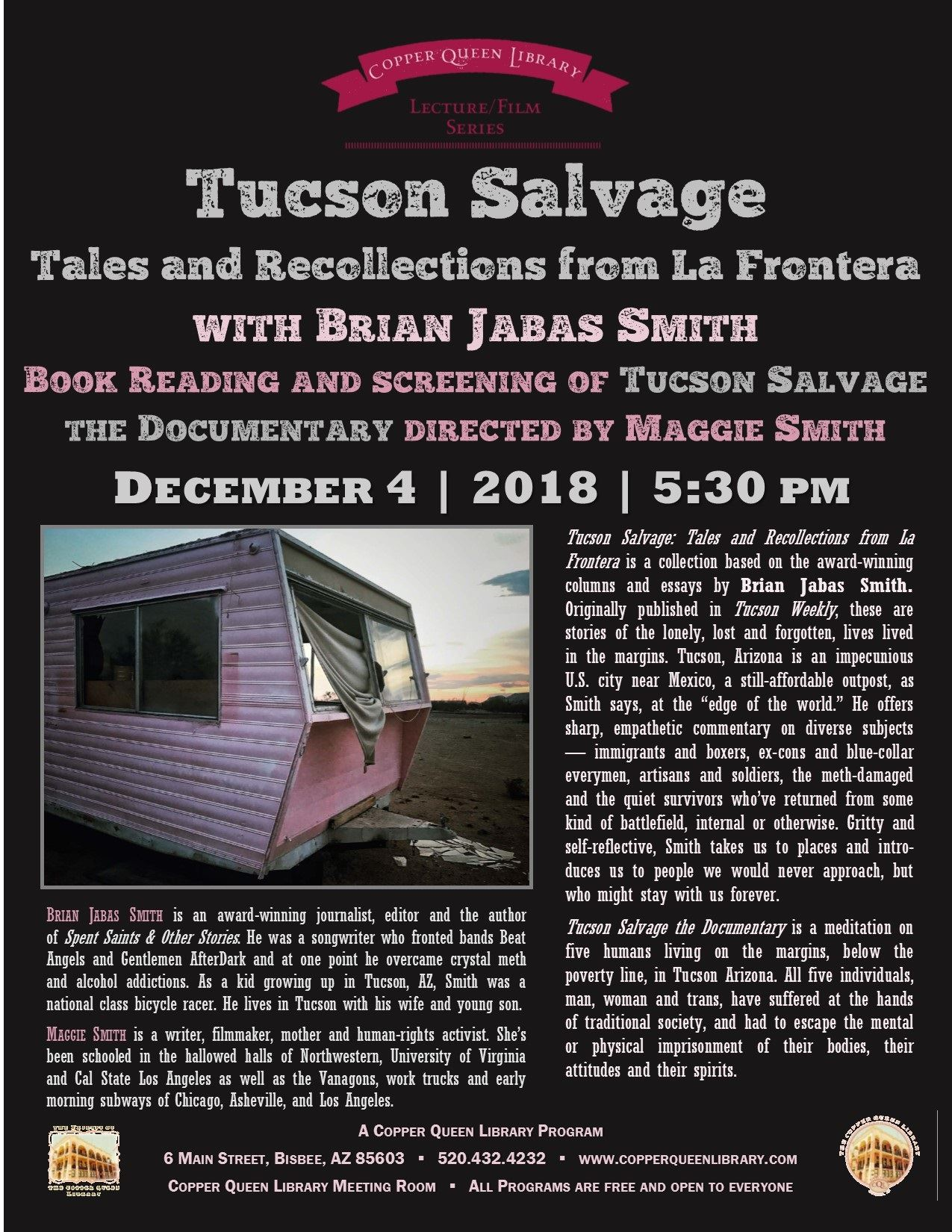 TUCSON SALVAGE BRIAN JABAS SMITH 12.4.18 8.5 x 11