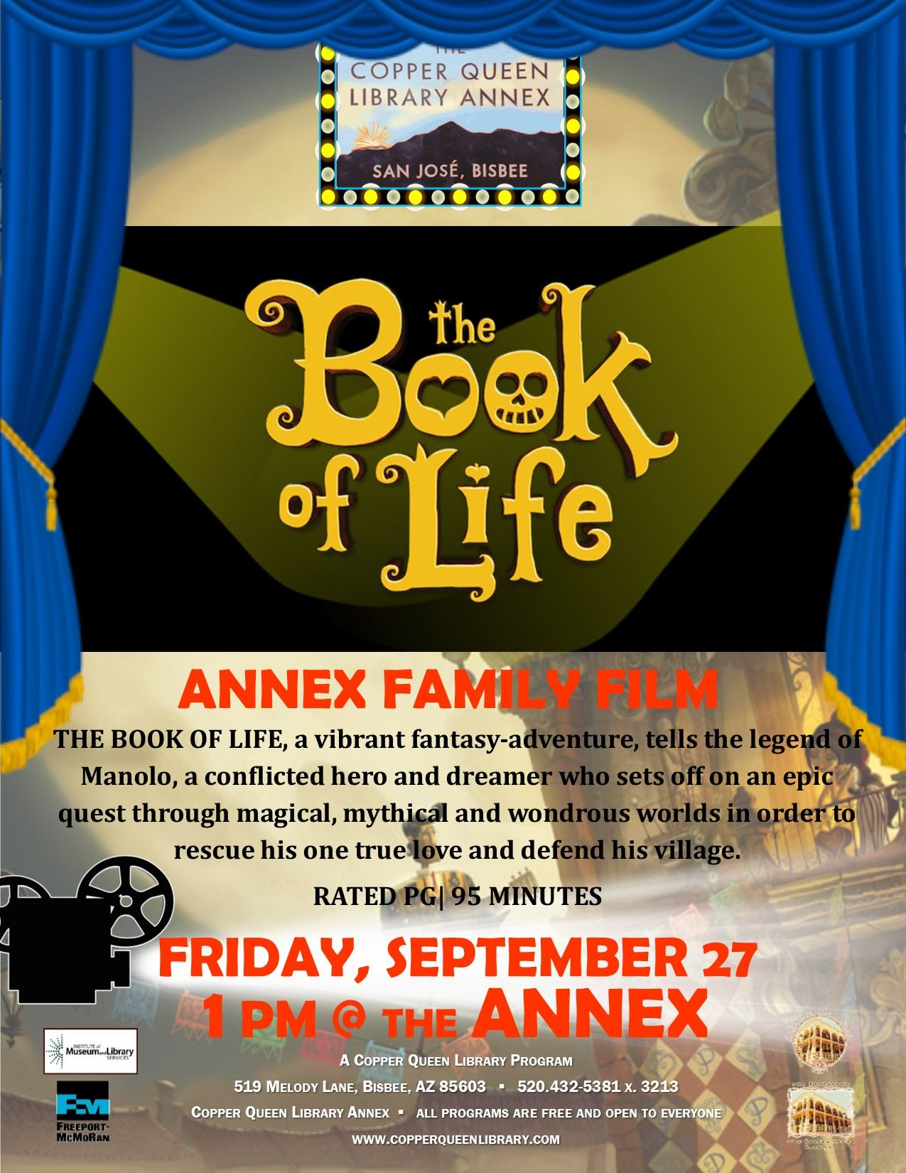 Annex Movie BOOK OF LIFE