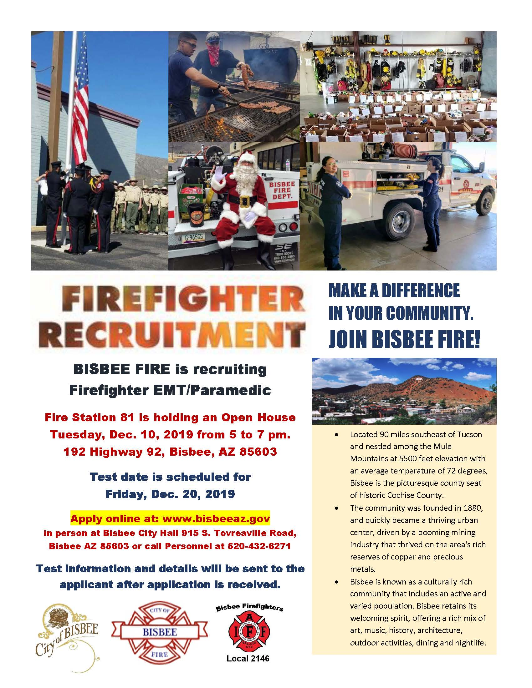 Fire Recruitment 2019