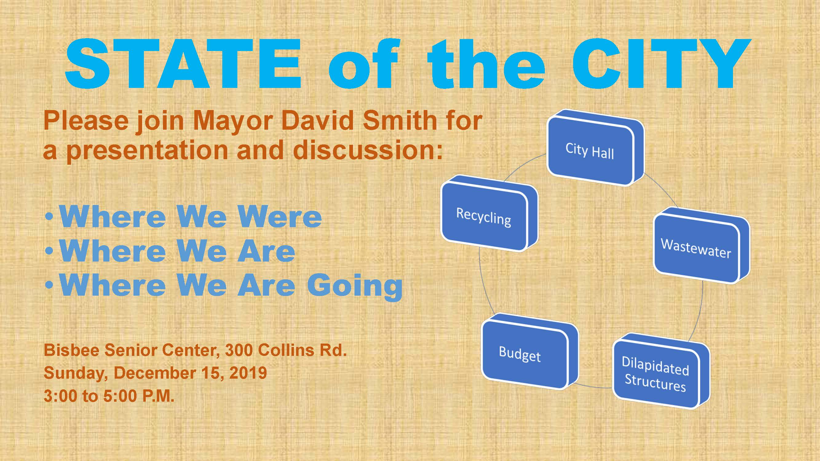 STATE of the CITY 12-15-19