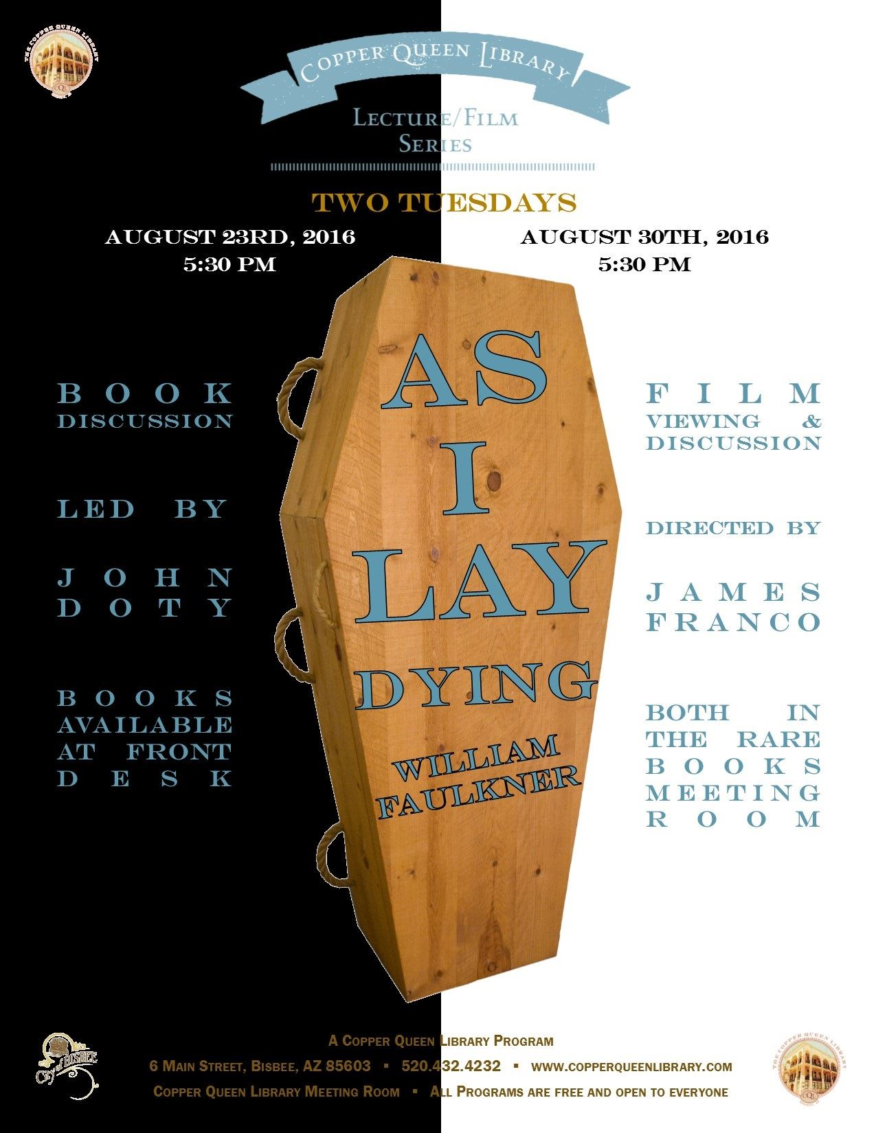 as i lay dying book discussion
