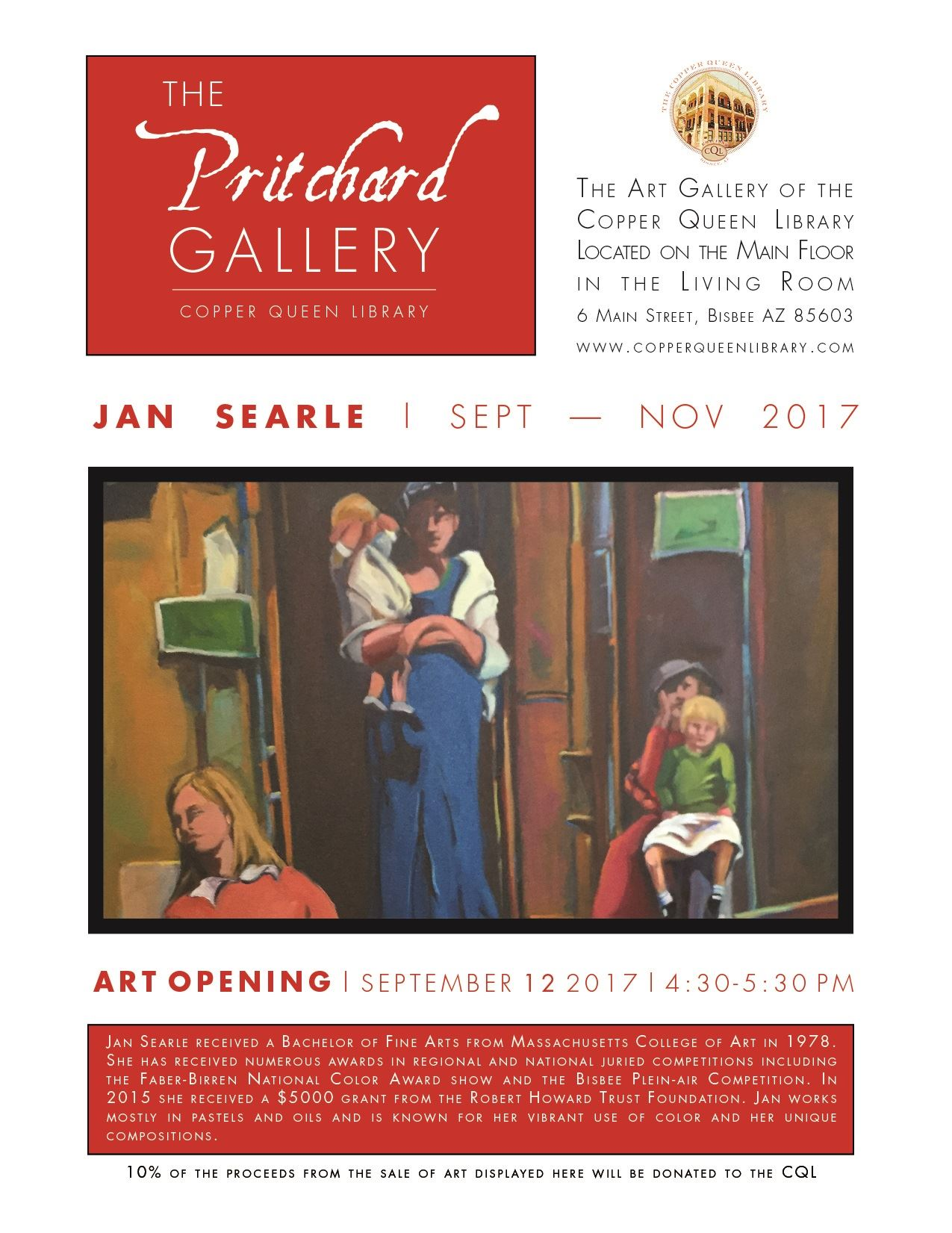 CQL PRITCHARD GALLERY JAN SEARLE