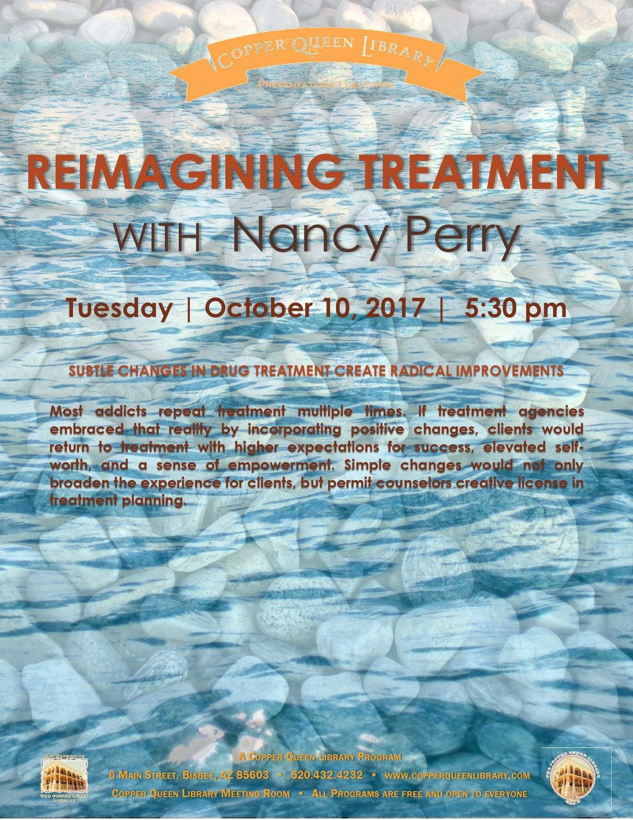 NANCY PERRY REIMAGINIG TREATMENT POSTER 10.10.17 8.5 x 11