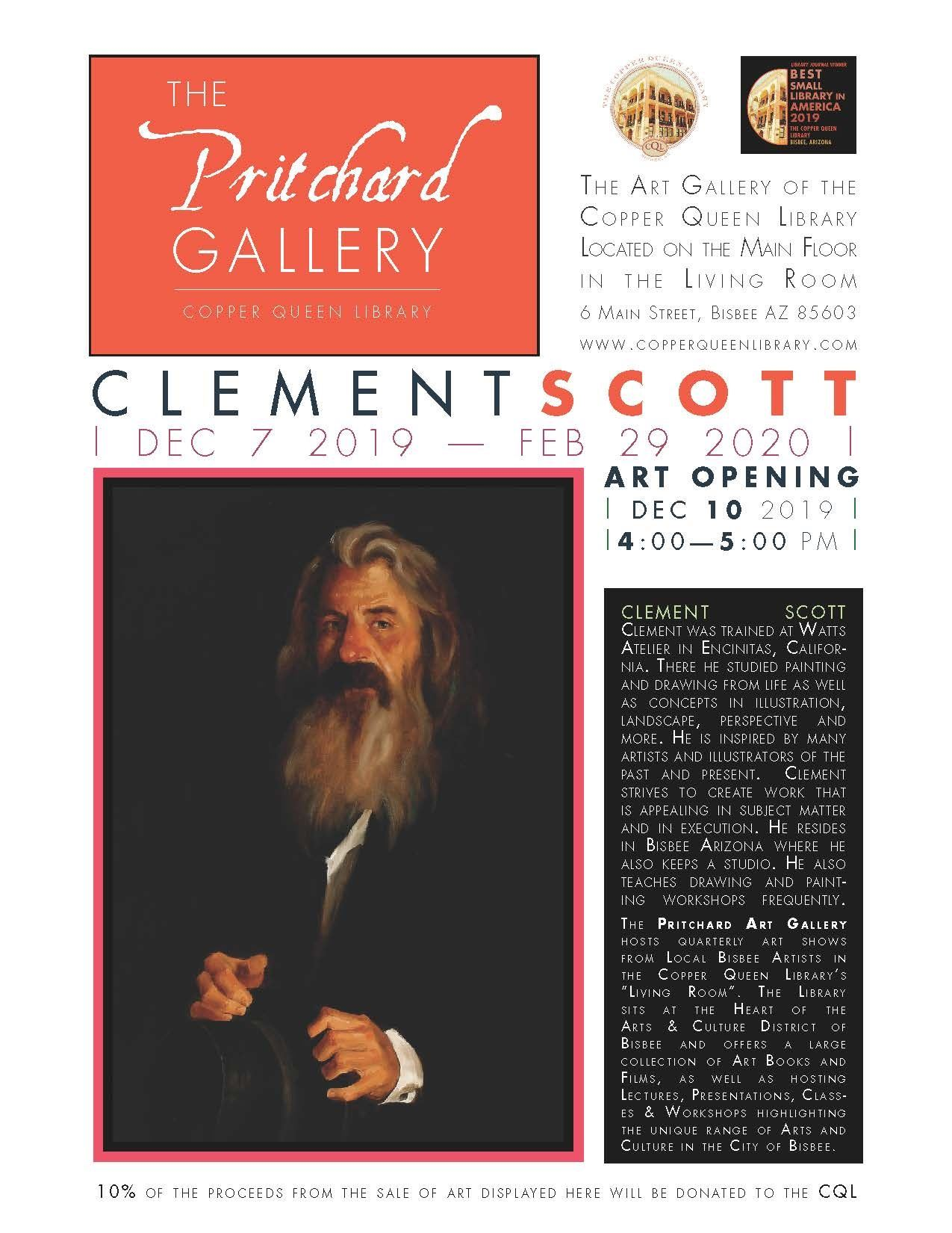 PRITCHARD GALLERY CLEMENT SCOTT 122019