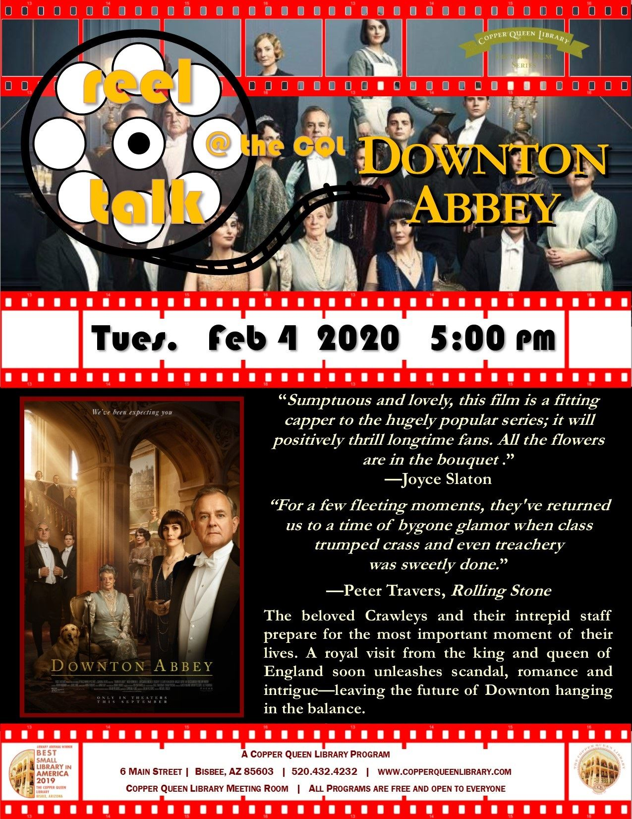 REEL TALK DOWNTON ABBEY